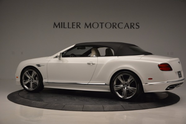 New 2017 Bentley Continental GT Speed Convertible for sale Sold at Maserati of Westport in Westport CT 06880 16