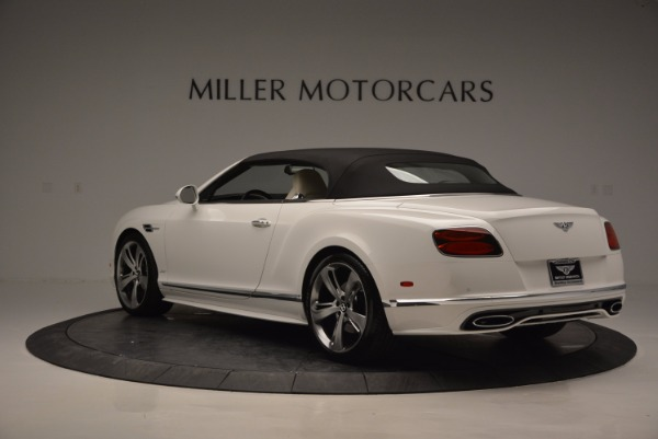 New 2017 Bentley Continental GT Speed Convertible for sale Sold at Maserati of Westport in Westport CT 06880 17