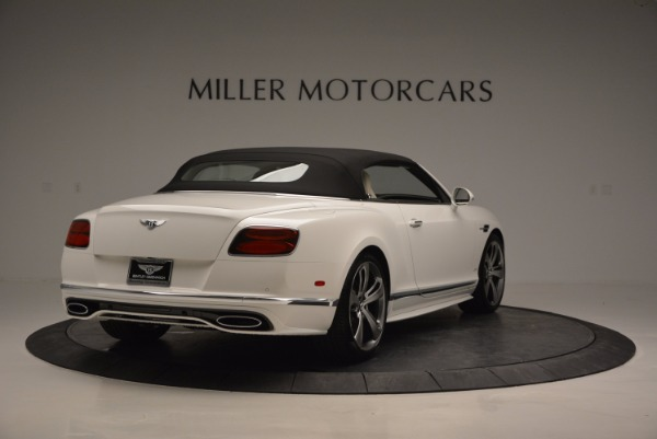 New 2017 Bentley Continental GT Speed Convertible for sale Sold at Maserati of Westport in Westport CT 06880 19