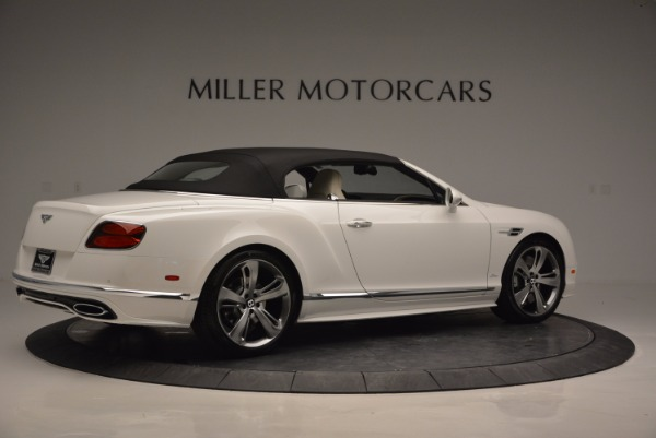 New 2017 Bentley Continental GT Speed Convertible for sale Sold at Maserati of Westport in Westport CT 06880 20