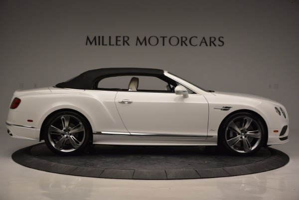 New 2017 Bentley Continental GT Speed Convertible for sale Sold at Maserati of Westport in Westport CT 06880 21