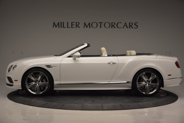 New 2017 Bentley Continental GT Speed Convertible for sale Sold at Maserati of Westport in Westport CT 06880 3