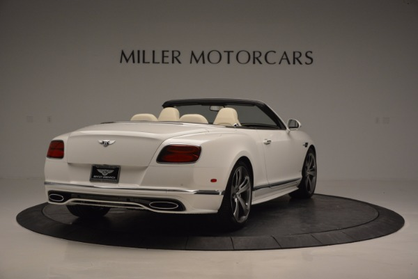 New 2017 Bentley Continental GT Speed Convertible for sale Sold at Maserati of Westport in Westport CT 06880 7
