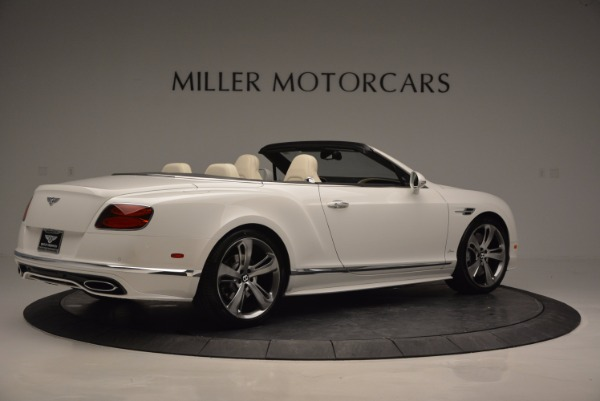 New 2017 Bentley Continental GT Speed Convertible for sale Sold at Maserati of Westport in Westport CT 06880 8