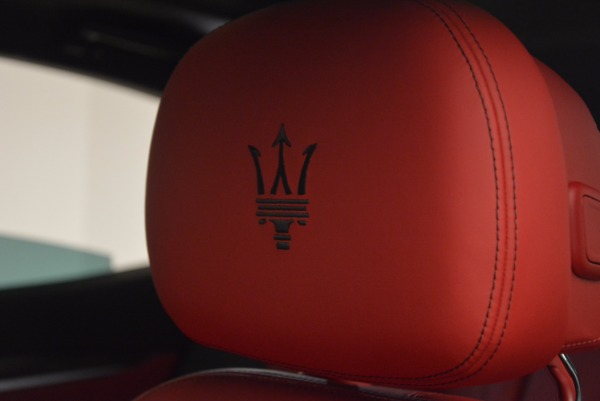 New 2017 Maserati Levante S Q4 for sale Sold at Maserati of Westport in Westport CT 06880 19