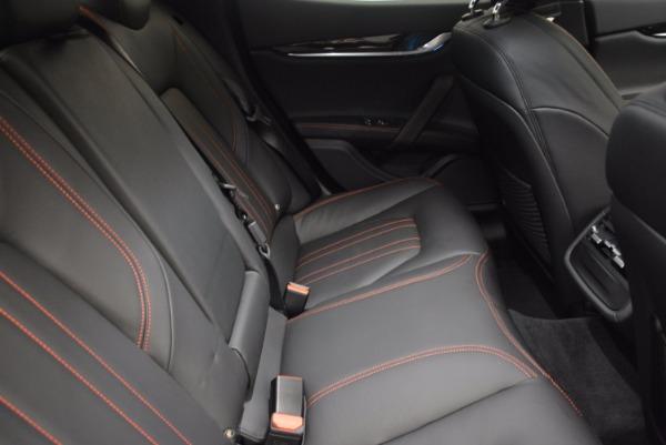 Used 2017 Maserati Ghibli S Q4 Ex-Loaner for sale Sold at Maserati of Westport in Westport CT 06880 23