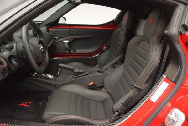 Used 2015 Alfa Romeo 4C for sale Sold at Maserati of Westport in Westport CT 06880 14