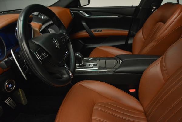 Used 2014 Maserati Ghibli S Q4 for sale Sold at Maserati of Westport in Westport CT 06880 14