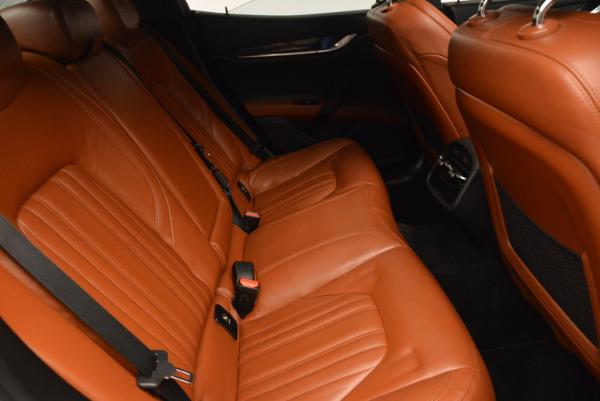 Used 2014 Maserati Ghibli S Q4 for sale Sold at Maserati of Westport in Westport CT 06880 24