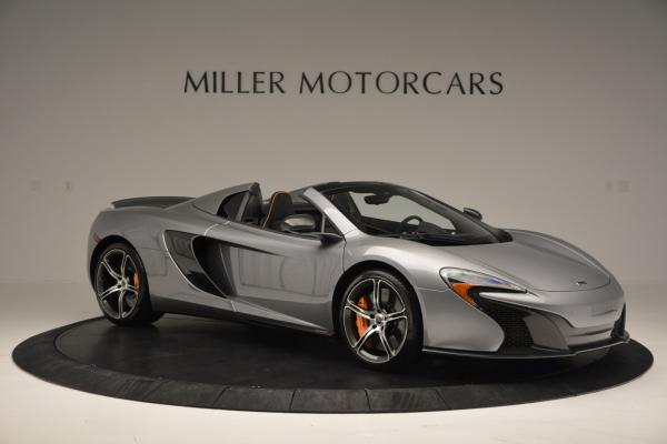 Used 2016 McLaren 650S SPIDER Convertible for sale Sold at Maserati of Westport in Westport CT 06880 10
