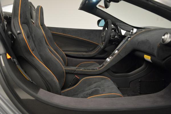 Used 2016 McLaren 650S SPIDER Convertible for sale Sold at Maserati of Westport in Westport CT 06880 27
