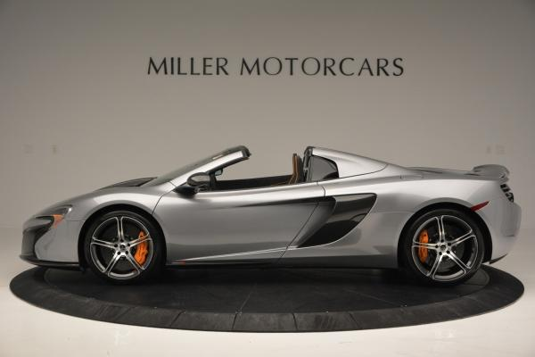 Used 2016 McLaren 650S SPIDER Convertible for sale Sold at Maserati of Westport in Westport CT 06880 3