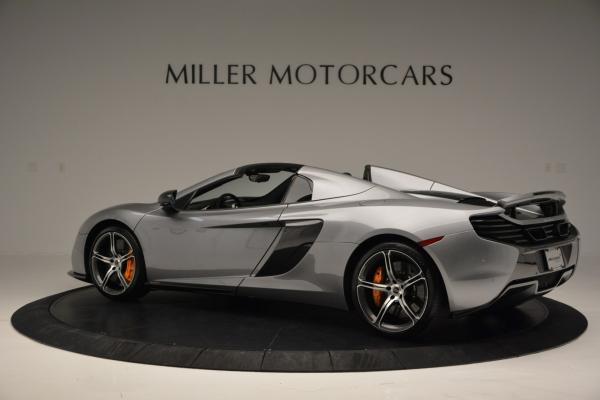 Used 2016 McLaren 650S SPIDER Convertible for sale Sold at Maserati of Westport in Westport CT 06880 4