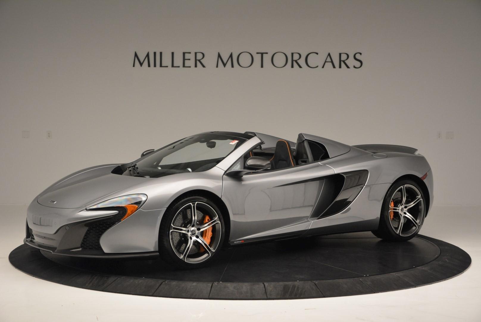 Used 2016 McLaren 650S SPIDER Convertible for sale Sold at Maserati of Westport in Westport CT 06880 1