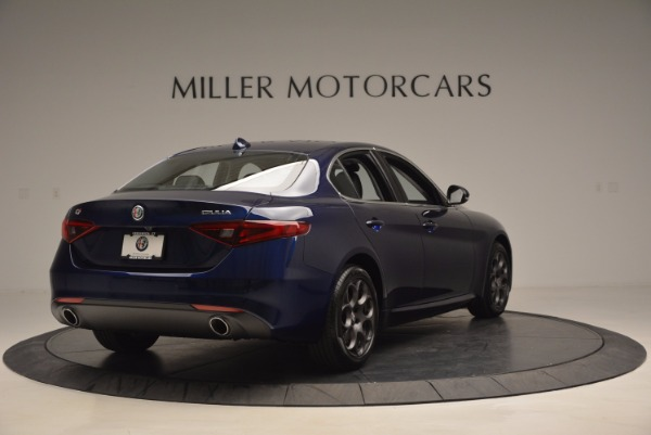 New 2017 Alfa Romeo Giulia for sale Sold at Maserati of Westport in Westport CT 06880 7