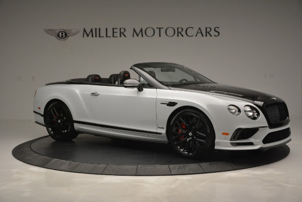 New 2018 Bentley Continental GT Supersports Convertible for sale Sold at Maserati of Westport in Westport CT 06880 10