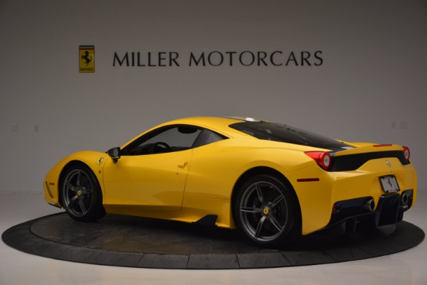 Used 2015 Ferrari 458 Speciale for sale Sold at Maserati of Westport in Westport CT 06880 4