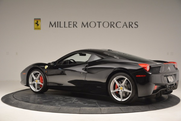 Used 2013 Ferrari 458 Italia for sale Sold at Maserati of Westport in Westport CT 06880 4