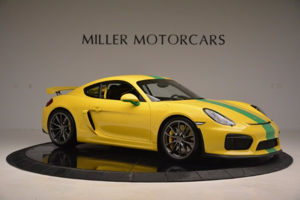 Used 2016 Porsche Cayman GT4 for sale Sold at Maserati of Westport in Westport CT 06880 10