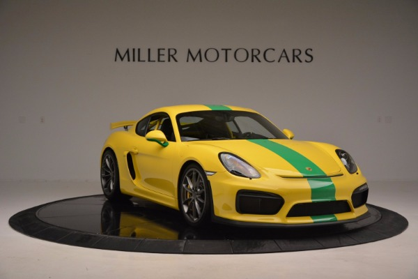 Used 2016 Porsche Cayman GT4 for sale Sold at Maserati of Westport in Westport CT 06880 11