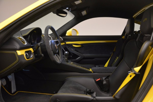 Used 2016 Porsche Cayman GT4 for sale Sold at Maserati of Westport in Westport CT 06880 14