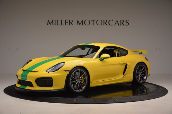 Used 2016 Porsche Cayman GT4 for sale Sold at Maserati of Westport in Westport CT 06880 2
