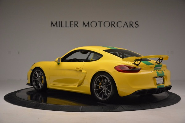 Used 2016 Porsche Cayman GT4 for sale Sold at Maserati of Westport in Westport CT 06880 4