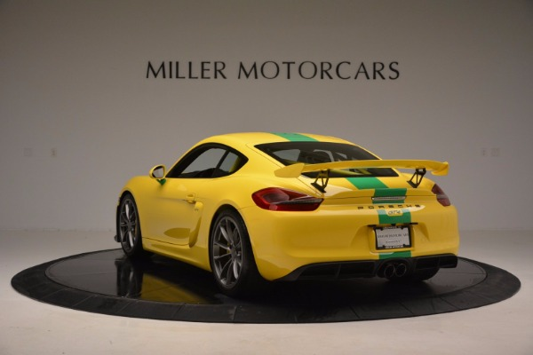 Used 2016 Porsche Cayman GT4 for sale Sold at Maserati of Westport in Westport CT 06880 5