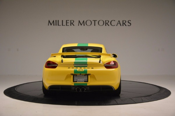 Used 2016 Porsche Cayman GT4 for sale Sold at Maserati of Westport in Westport CT 06880 6