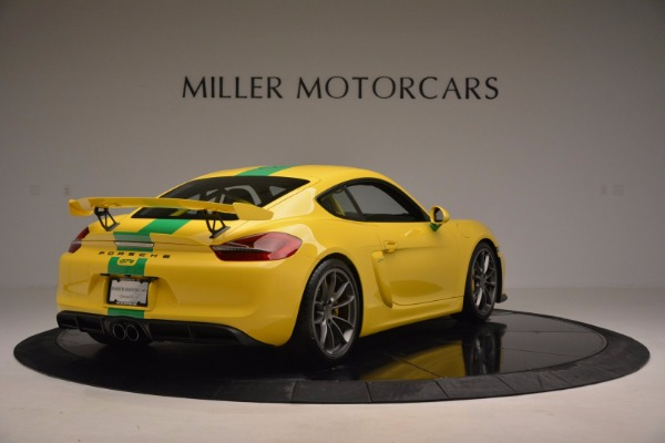Used 2016 Porsche Cayman GT4 for sale Sold at Maserati of Westport in Westport CT 06880 7