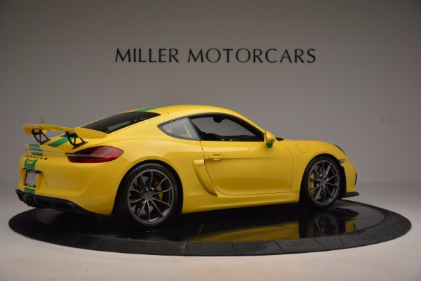 Used 2016 Porsche Cayman GT4 for sale Sold at Maserati of Westport in Westport CT 06880 8