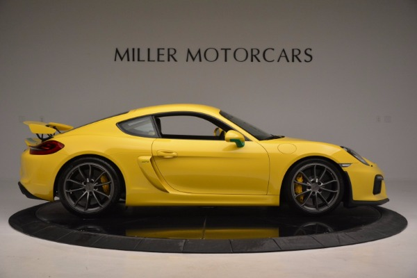 Used 2016 Porsche Cayman GT4 for sale Sold at Maserati of Westport in Westport CT 06880 9