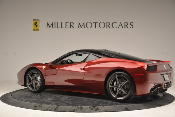 Used 2011 Ferrari 458 Italia for sale Sold at Maserati of Westport in Westport CT 06880 4