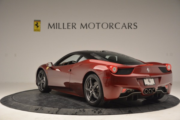 Used 2011 Ferrari 458 Italia for sale Sold at Maserati of Westport in Westport CT 06880 5
