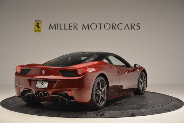Used 2011 Ferrari 458 Italia for sale Sold at Maserati of Westport in Westport CT 06880 7