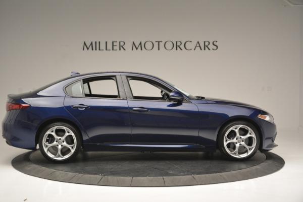 New 2018 Alfa Romeo Giulia Ti Sport Q4 for sale Sold at Maserati of Westport in Westport CT 06880 9