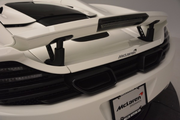 Used 2014 McLaren MP4-12C Spider for sale Sold at Maserati of Westport in Westport CT 06880 22