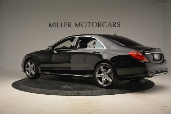 Used 2014 Mercedes Benz S-Class S 63 AMG for sale Sold at Maserati of Westport in Westport CT 06880 4