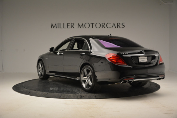 Used 2014 Mercedes Benz S-Class S 63 AMG for sale Sold at Maserati of Westport in Westport CT 06880 5