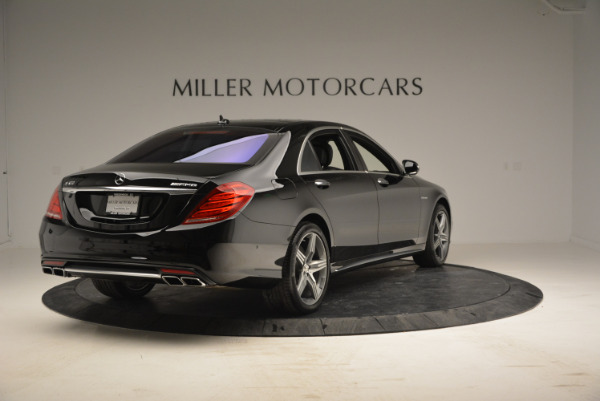 Used 2014 Mercedes Benz S-Class S 63 AMG for sale Sold at Maserati of Westport in Westport CT 06880 7