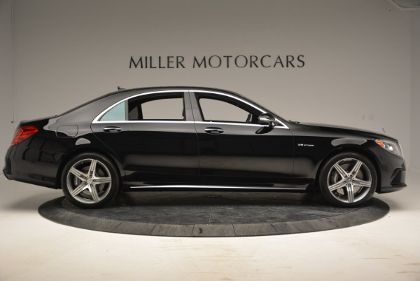 Used 2014 Mercedes Benz S-Class S 63 AMG for sale Sold at Maserati of Westport in Westport CT 06880 9