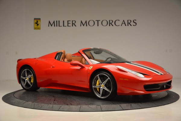 Used 2014 Ferrari 458 Spider for sale Sold at Maserati of Westport in Westport CT 06880 10
