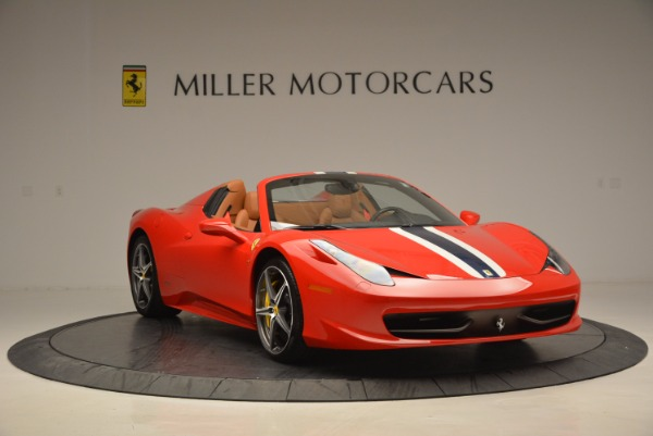 Used 2014 Ferrari 458 Spider for sale Sold at Maserati of Westport in Westport CT 06880 11