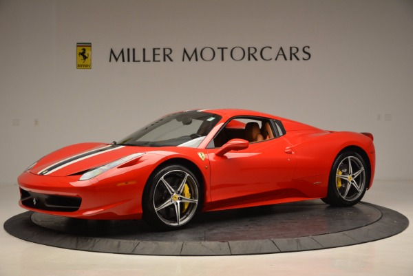 Used 2014 Ferrari 458 Spider for sale Sold at Maserati of Westport in Westport CT 06880 14