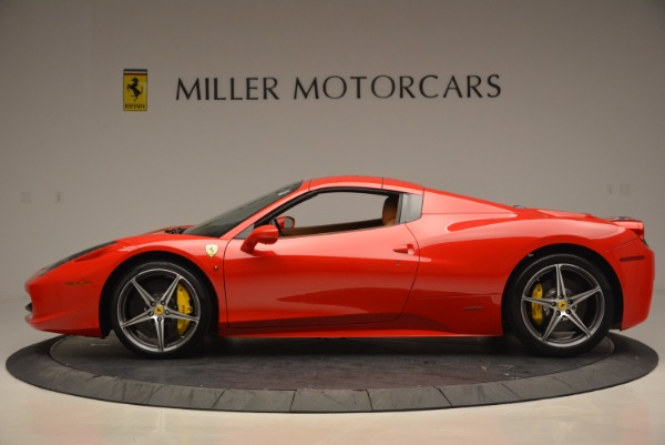 Used 2014 Ferrari 458 Spider for sale Sold at Maserati of Westport in Westport CT 06880 15