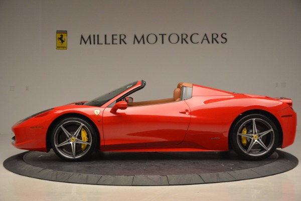 Used 2014 Ferrari 458 Spider for sale Sold at Maserati of Westport in Westport CT 06880 3