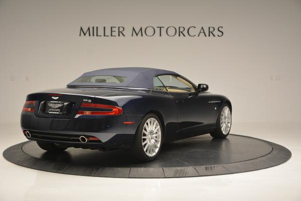 Used 2007 Aston Martin DB9 Volante for sale Sold at Maserati of Westport in Westport CT 06880 19
