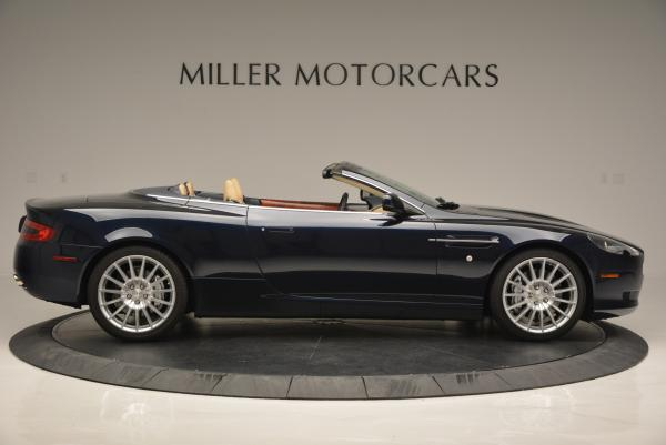 Used 2007 Aston Martin DB9 Volante for sale Sold at Maserati of Westport in Westport CT 06880 9