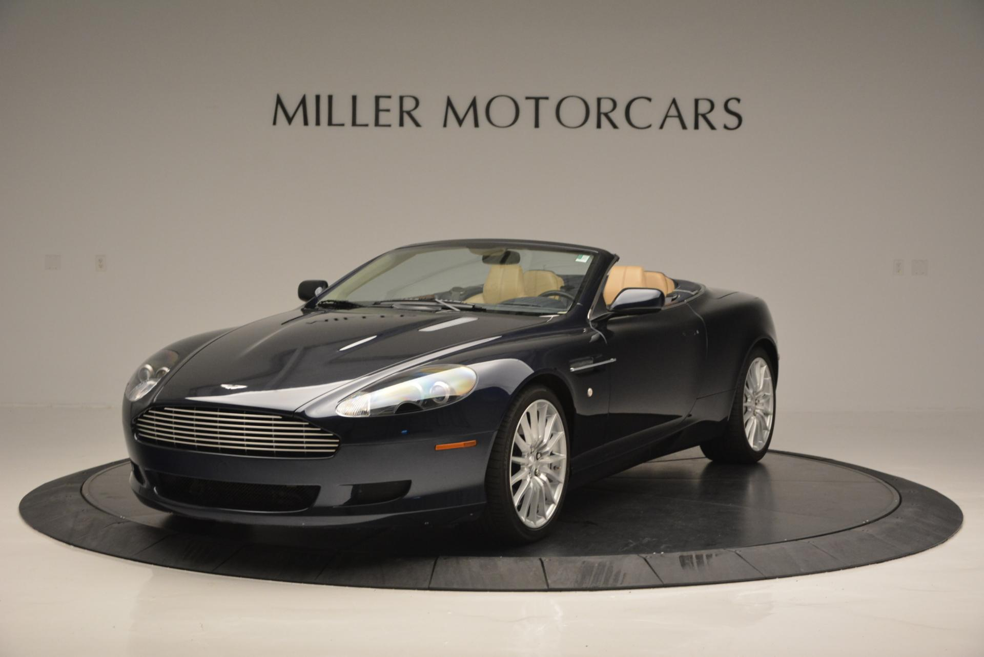 Used 2007 Aston Martin DB9 Volante for sale Sold at Maserati of Westport in Westport CT 06880 1