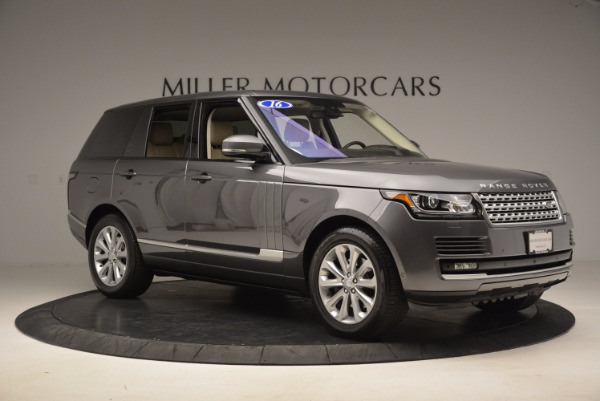 Used 2016 Land Rover Range Rover HSE TD6 for sale Sold at Maserati of Westport in Westport CT 06880 10